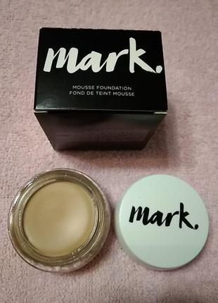 Тональный матирующий крем-мусс avon mark