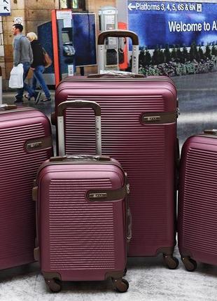 Новый качественный чемодан fly / сумка на колёсах