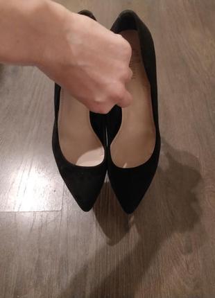 Туфлі лодочки 40р (на вузьку ногу)