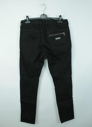 Оригинальные джинсы guess biker skinny fit black jeans