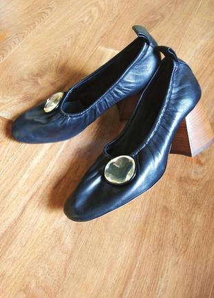 Кожаные туфли celine paris phoebe philo's