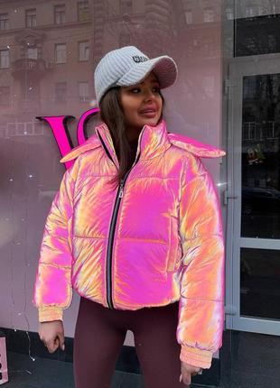 Куртка зимняя светоотражающая