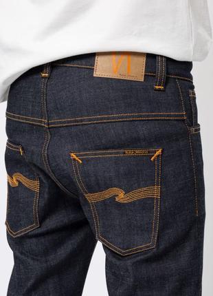 Стильные джинсы nudie jeans thin finn dry selvage