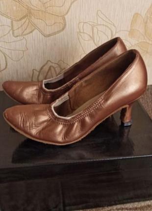 Бальные туфли стандарт для девочки