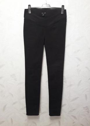 Стрейчевые брюки, 46-48, хлопок, эластан, h&m, mama