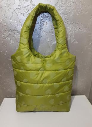 Стеганая сумка,,дутик,, повседневная сумка