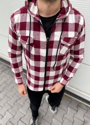 Рубашка теплая на байке