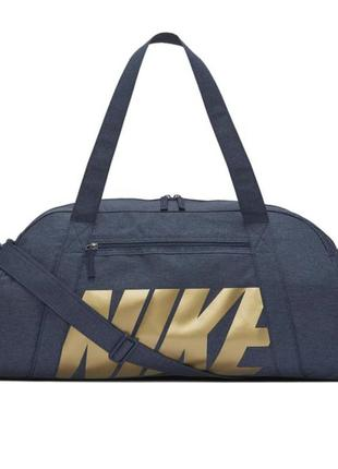 Сумка спортивная женская nike gym club training duffel bag ba5490-454 синий