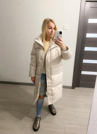 Очень теплый пуховик, зимний пуховик, курточка, куртка, натуральный пух