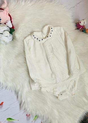 Красивая удобная  блузка боди mayoral малышке 1-1.5 года