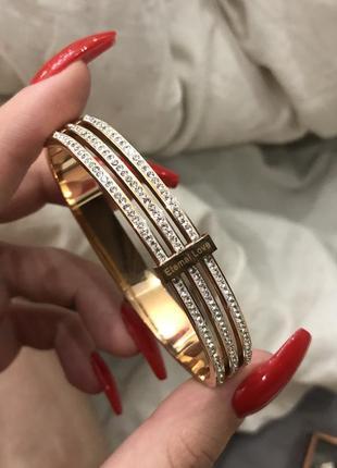 Новый браслет под золото