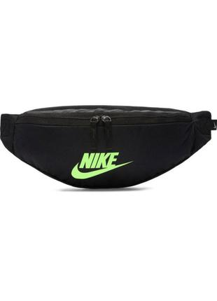 Сумка на пояс nike sportswear heritage ba5750-019 черный