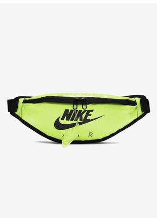 Сумка на пояс nike sportswear heritage cw9259-702 желтый