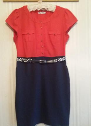 Платье-футляр stella svelto, размер 16.