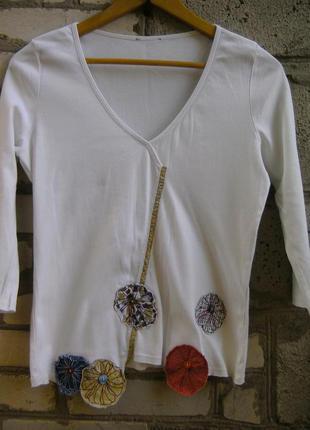 Белая футболка per una.