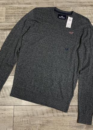 Мужской свитер кофта пуловер джемпер hollister