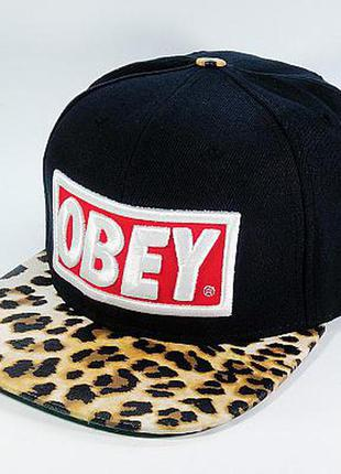 Кепка (snapback) obey