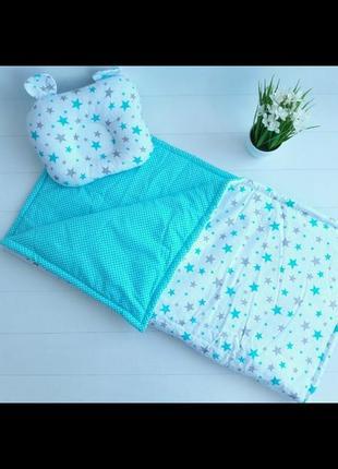 Одеяло + подушка(ортопед)