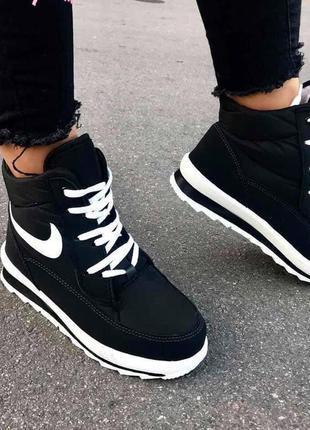 Зимові кросівки nike