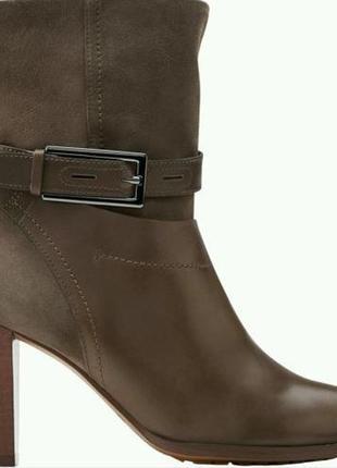 Clarks kacia garnet кожаные замшевые ботинки размер 37, 41
