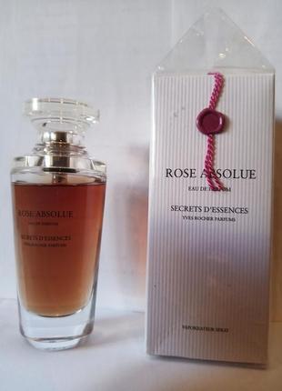 Парфюмированная вода абсолютная вода роза абсолют ив роше rose absolue