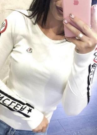 Новый женский свитер moncler.