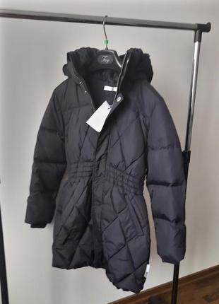 Новое пальто на пуху name it, дания 50% пух куртка пуховик