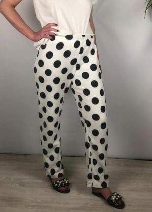 Домашние флисовые штаны в горохи love to lounge p.m