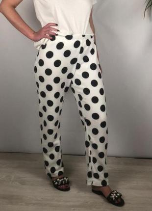Домашние флисовые штаны в горохи love to lounge p.m4 фото