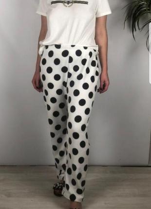Домашние флисовые штаны в горохи love to lounge p.m3 фото