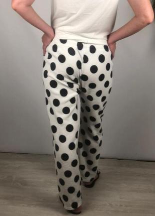 Домашние флисовые штаны в горохи love to lounge p.m5 фото