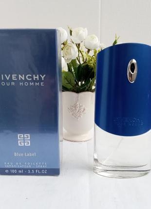 Givenchy blue label живанши мужские духи парфюмированная вода