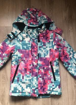 Курточка 134 р. лыжная