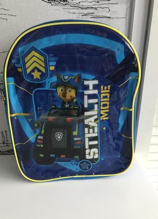 Дошкольный рюкзак щенячий патруль чейз 3-6 лет