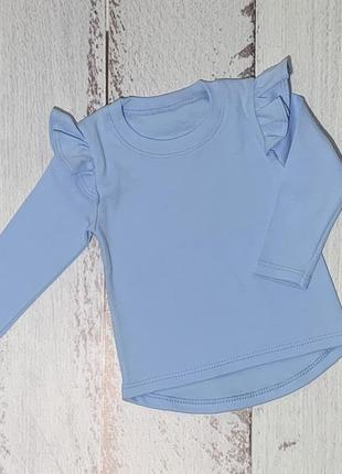 Нежная блуза с крылышками для девочек puzya