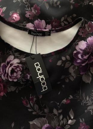 Красивейшее платье boohoo с этикеткой р-р м/46 наш