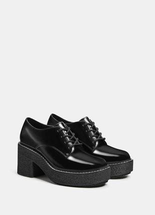 Фирменные туфли дебри berschka