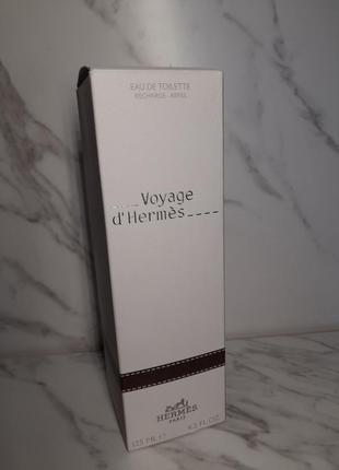 Туалетна вода (змінний блок) hermes voyage d' hermes
