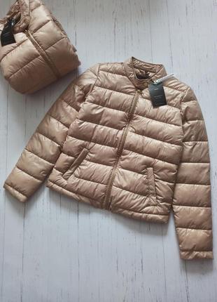 🔥невесомая весенняя бежевая куртка cropp🔥