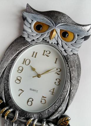 Настенные часы большие винтажные, интерьерные.