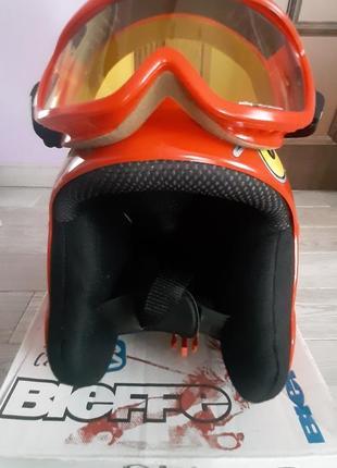 Шлем горнолыжный детский