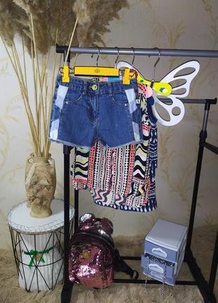 3-4 года шорты джинс m&co