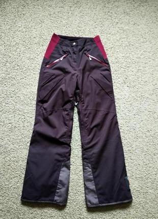 Зимние лыжные штаны quechua размер xs-s