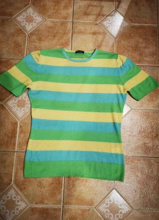 Кашемировая футболка