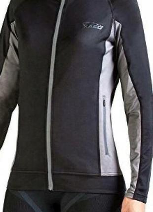 Спортивная кофта для бега термо xaed living sporty размер s/m