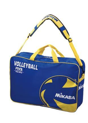 Сумка для мячей mikasa ac-bg260w-bl синий