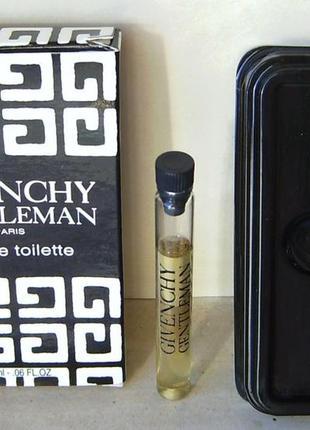 Givenchy gentleman (1974) - edt - 2 мл. оригінал. вінтаж