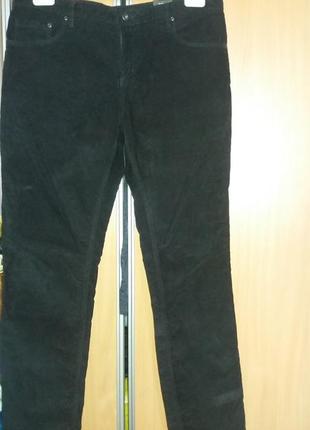 Новые вельветовые брюки o'stin.
