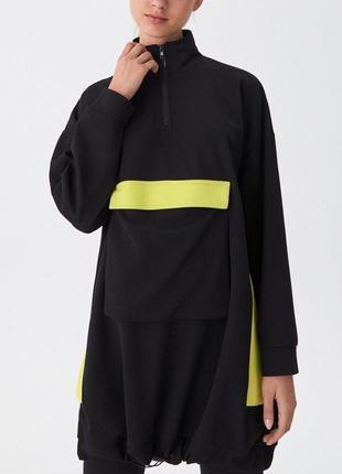 Туника, платье в спортивном стиле