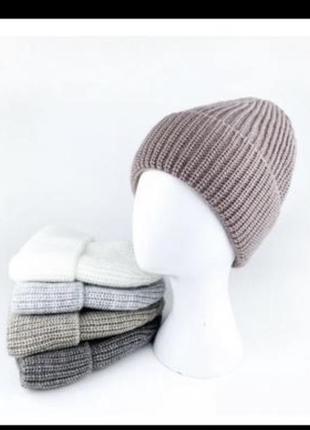 Цена 🔥тёплая женская шапка на флисе